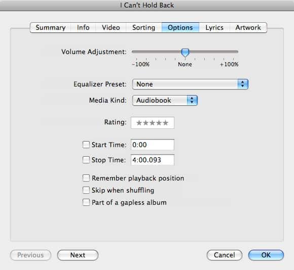 Adjusting playback speed of music tracks