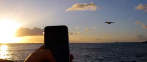 Photo of the Week: iPhone 3G in St. Martin