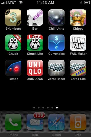 Weird + Small Apps: 3 Numbers, Currencies, FAIL Maker, Uniqlock S5, Chuck The Ball + More