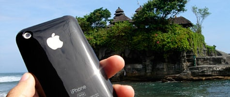 Photo of the Week: iPhone in Bali