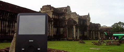 Photo of the Week: iPod classic in Cambodia