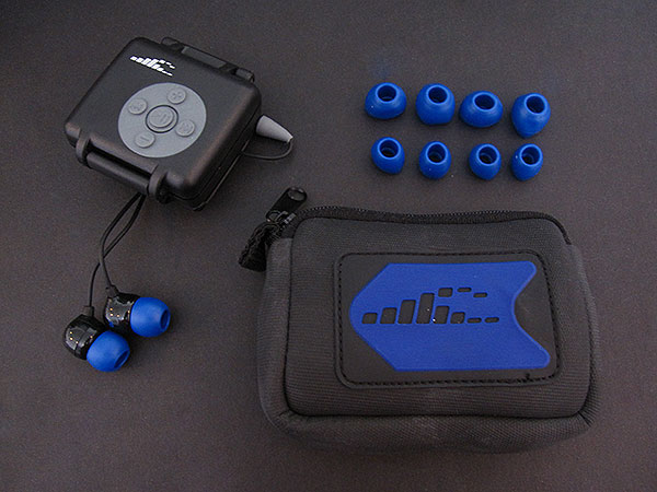 Review: H2O Audio Interval Waterproof Headphone System for iPod shuffle 2G