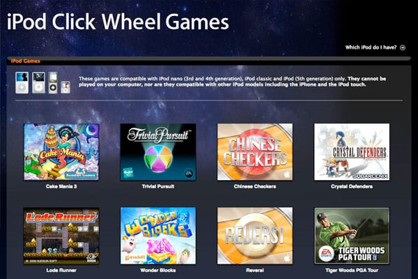 Editorial: Should Apple Kill iPod Click Wheel Games, or Are They Still Needed?