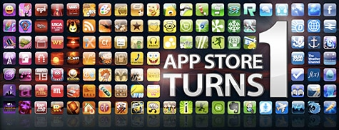 Apple celebrates one year of the App Store