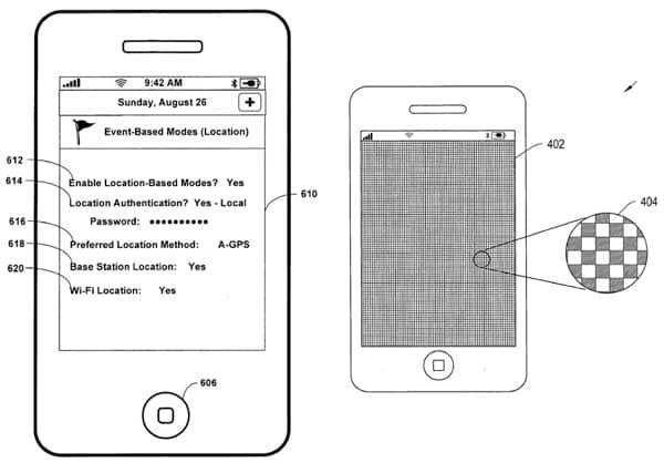 iPhone patent filings: haptics, fingerprints, karaoke, packaging, more