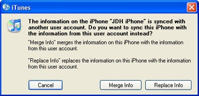 Recover Contact/Calendar info from iPod touch