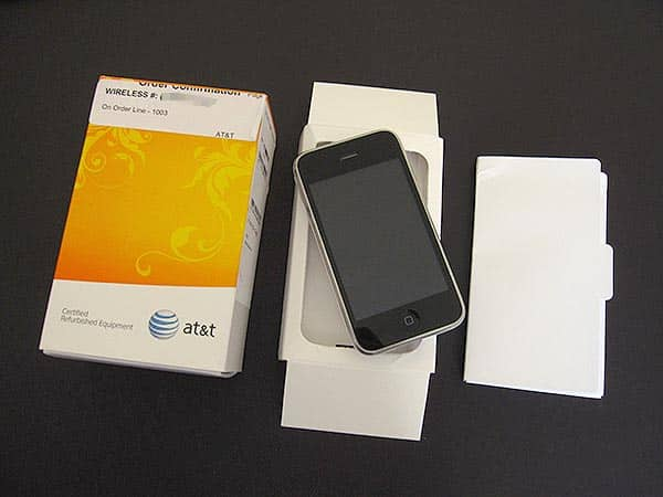 iPhone 3G Refurbs, or, More Fun With AT&T