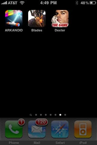 iPhone Gems: Arkanoid, Blades of Fury + Dexter: The Game