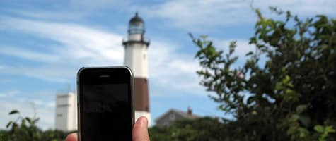 Photo of the Week: iPhone 3GS in Montauk