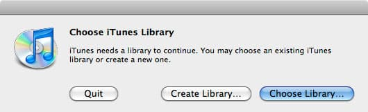 Moving iTunes library out of My Documents