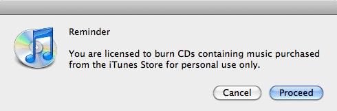 Audiobook Burn Limits