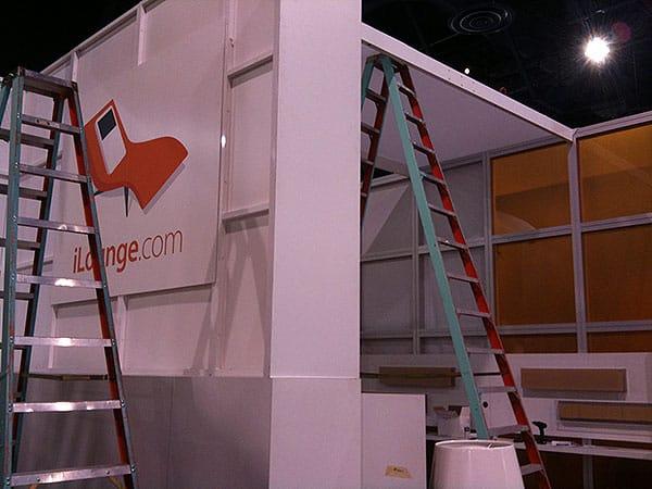 iLounge Pavilion, Backstage (Under Construction)