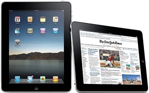 Apple unveils iPad tablet computer