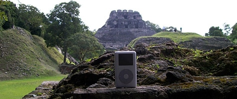 Photo of the Week: iPod photo in Belize