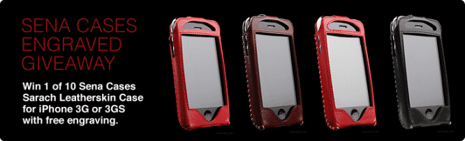 Sena Cases Engraved Giveaway – Winners Announced