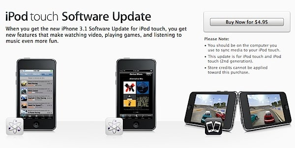 iPod touch and apps requiring OS 3.x
