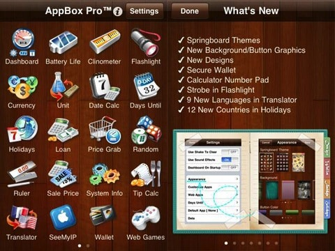 AppBox Pro update adds themes, new features