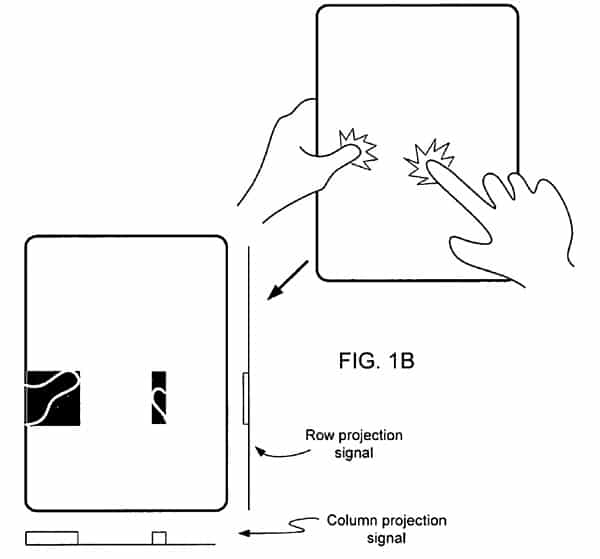 Apple receives patent for multipoint touchscreen