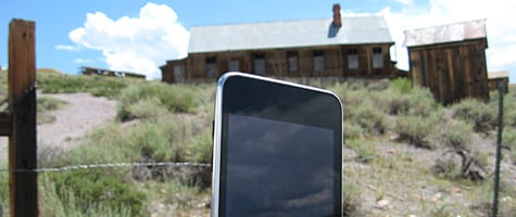 Photo of the Week: iPod touch in California