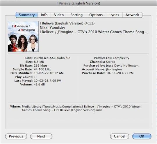 Creating iPhone ringtones
