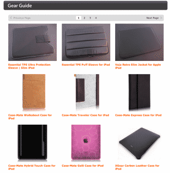 Our New iPad Case Gallery, Designed For Your Convenience