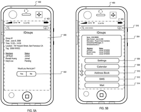 Apple patent details 'iGroups' location-based service