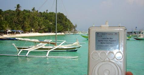 Photo of the Week: iPod in Boracay