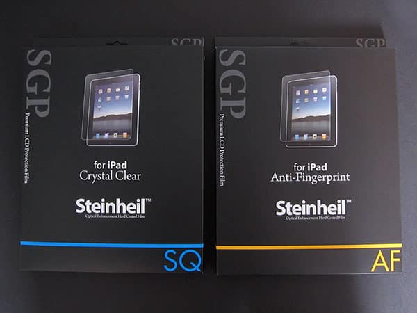 Early Comparative Insights on iPad Screen Protectors