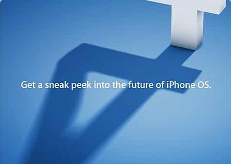 Apple announces iPhone OS 4 event on April 8
