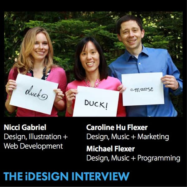 Duck Duck Moose: The iDesign Interview