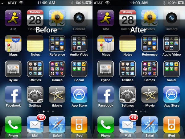 The iOS 4.0.1 iPhone 4 Reception Fix