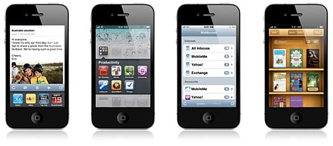 Apple releases iOS 4 for iPhone, iPod touch