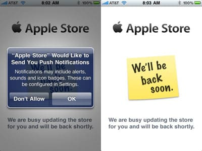 Apple launches Apple Store app for iPhone