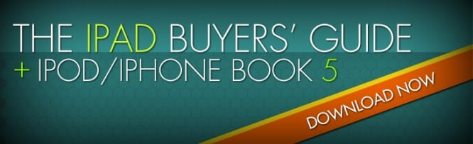 Download Now: iLounge's iPad Buyers' Guide + iPod/iPhone Book 5