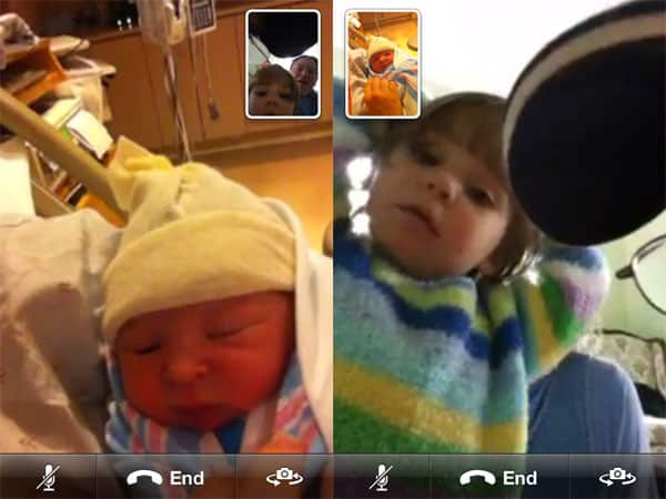 Introducing Catherine Anne Horwitz, Live Over iPhone 4 FaceTime