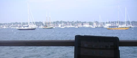 Photo of the Week: iPad in Rhode Island