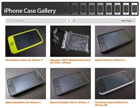 iLounge launches iPhone 4 Case Gallery