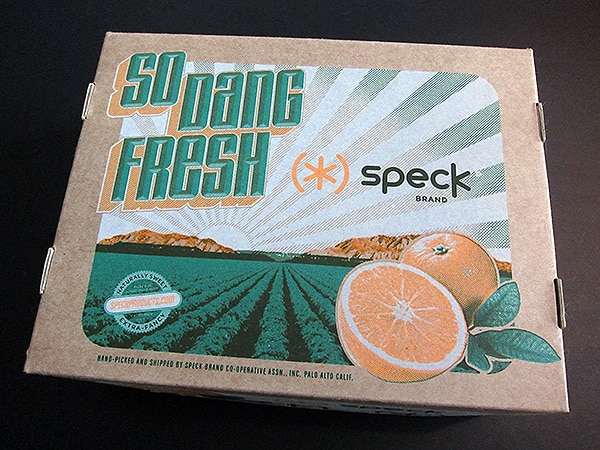 Interesting: Speck's Fruity AT&T-Exclusive iPhone 4 Case Promo Box
