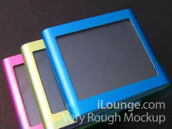 How iPod nanoshuffle Might Look