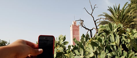 Photo of the Week: iPhone 4 in Morocco