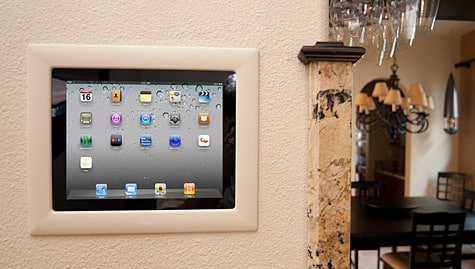 iPort rolls out in-wall Control Mount for iPad