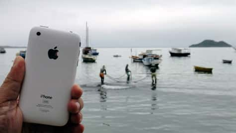 Photo of the Week: iPhone 3GS in Brazil