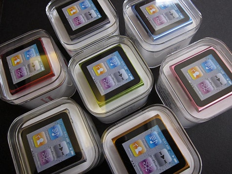Unboxing photos of iPod nano 6G, touch 4G posted