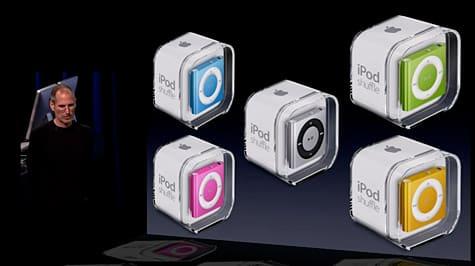 Apple debuts fourth-generation iPod shuffle
