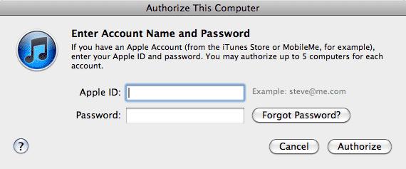 Merging iTunes Store accounts