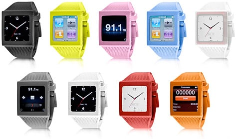 Hex intros watch band for iPod nano 6G