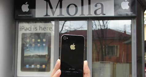 Photo of the Week: iPhone 4 in Albania