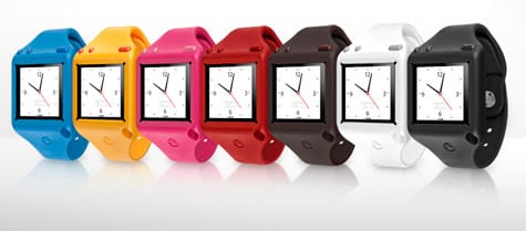 SwitchEasy rolls out Ticker watchstrap for iPod nano 6G