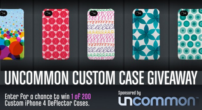 Uncommon Custom Case Giveaway – Winners Announced