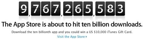 Apple launches 10 Billion App Countdown